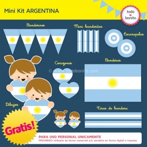 Kit imprimible ARGENTINA