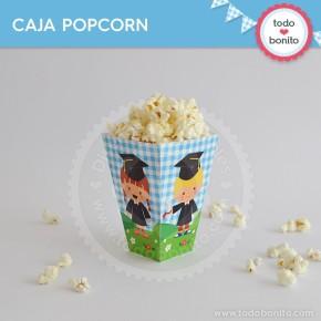 Egresaditos: cajita popcorn