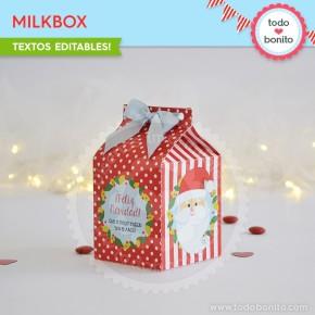 Carita de Santa: milkbox