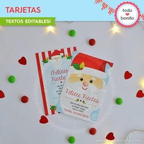 Carita de Santa: tarjetas