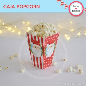 Carita de Santa: caja popcorn