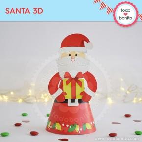 Carita de Santa: Santa 3D