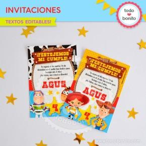 Toy Story: tarjetas