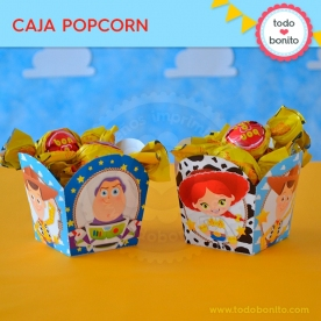 Toy Story: cajita popcorn