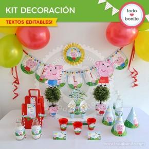 Cerdita: decoración de fiesta