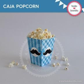 Bigotes: cajita popcorn
