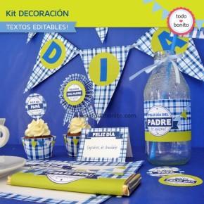 Día del padre: kit decoración
