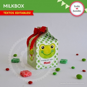Sapo: cajita milkbox