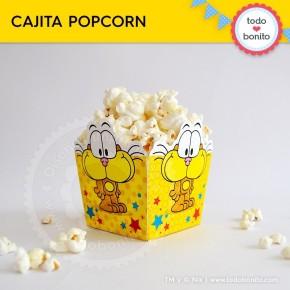 Gaturro: caja popcorn para imprimir