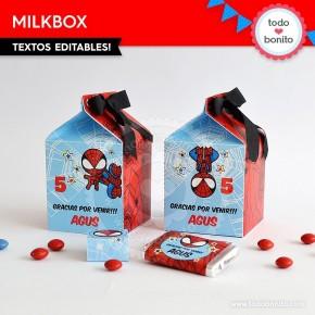 Hombre Araña: cajita milkbox