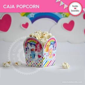 Pony: cajita popcorn