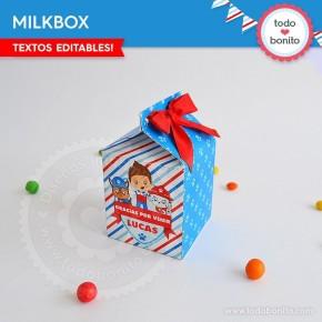 Cachorros: cajita milkbox