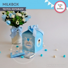 Alitas celeste: milkbox