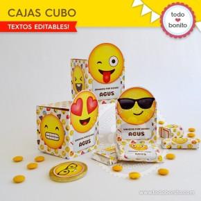 Emojis: cajitas cubo