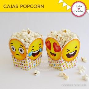 Emojis: cajita popcorn
