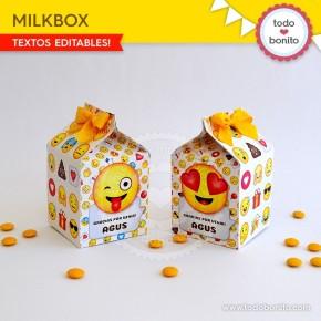Emojis: cajita milkbox